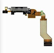 Black Charger Charging Dock Port Connector with Flex Cable for iPhone 4S