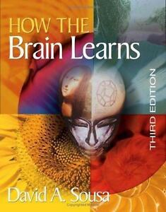 How the Brain Learns Book Sousa, David A. Third Edition 2006 Like New