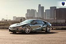 22x9 22X10.5 +40 Rohana RFX5 5X120 Brushed Titanium WHEELS FITS BMW I8 STAGGERED