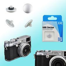 Silver Convex Shutter Release Button JJC Brass FUJIFILM X20 Leica M3 Olympus OM1