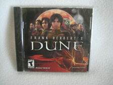 Frank Herbert's Dune 2001 Dreamcatcher PC Video Game NEW SEALED