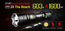 Klarus XT12GT XHP35 HI D4 1600LM Magnetic Charging Tactical LED Flashlight