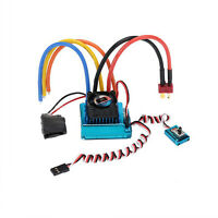 60A/80A/120A Brushless ESC Electric Speed Controller for HSP 1/10 RC Car Truck
