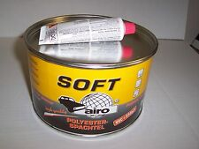 Fine Polyester Stopper  2.5 kilo  with hardener  2K easy sand & pin hole free