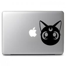 Sailor Moon Cat Luna Sticker Decal for Macbook Air Pro Laptop Car Window Bumper