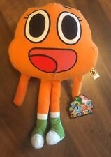 """The Amazing World of Gumball DARWIN 14"""" LICENSED PLUSH NEW W/ TAGS"""