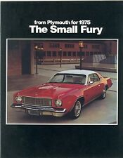 1975 Plymouth Small Fury Brochure Sport/Road Runner+++