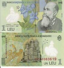 ROMANIA 1 LEU 2005 POLYMER UNC FDS