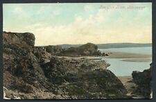 The Lion Rock Rhosneigr 1907 old vintage postcard