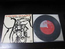 "Miles Davis My Funny Valentine Japan Vinyl EP 7 inch Single Red Garland 7"""
