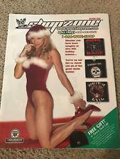 2003 WWF Merchandise Catalog Shirt Mask UNDERTAKER KANE DX DIVA SABLE LITA RVD