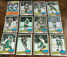 1980-81   O-Pee-Chee  MINNESOTA NORTH STARS 20 Card team set/lot
