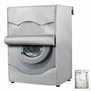 Washing Machine Dust Cover Waterproof Protective Case Front Load Laundry Bag