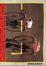 Catalogue publicitaire VELO PEUGEOT GAMME 1987 galaxie comete cosmic chorus px p