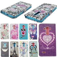 Book Wallet Flip Leather Card Holder Case Cover Stand For Various Mobile Phones