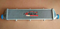 "550 x 140 x 50mm FMIC Tube and Fin ALUMINUM TURBO INTERCOOLER 2.25"" INLET/OUTLET"