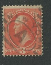 1887 US Stamp #214 Used F/VF Catalogue Value $50