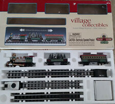LEMAX Village Collectibles Express Three Train Cars