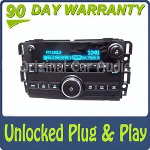 UNLOCKED GMC Chevy Radio 6 Disc CD Changer USB AUX XM MP3 Stereo 20935459 OEM