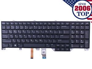 Laptop Keyboard for ALIENWARE 17 R4 US Backlit Black