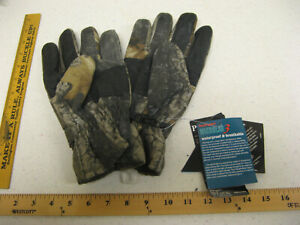 New Promark by Wells Lamont Sportsman Lined Hardwoods Waterproof Gloves Lrg B181