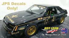 1:18 Vinyl Decals only! to suit 1986 Dick Johnson Wellington 500 Ford Mustang
