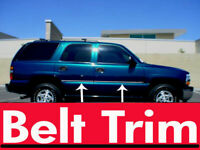 For Chevy TAHOE Flexible Chrome Body Side Molding Trim Kit 2000-2006 **