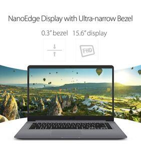 "ASUS VivoBook X510UQ-NH71 Intel i7-7500U 2.7GHz 15.6"" LCD 8GB RAM 1TB HDD Win10"