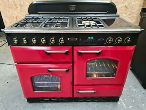 Leisure rangemaster 110 red LPG all gas range cooker - DELIVERY AVAILABLE