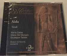 VERDI AIDA Verdi: Aida like new 2 CD set (2000, Opera D'Oro) Callas Collection