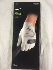 NIKE TOUR GOLF GLOVES, GG0514-101 DRI-FIT, OFF-WHITE WOMEN LEFT-HAND SIZE-ML