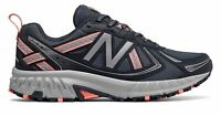 New Balance Women's 410v5 Trail Shoes Grey with Grey & Orange