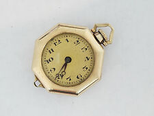 Swiss Pendant Watch - 2291 Vintage Ioco 14k G.F. 15j