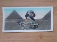 VINTAGE POSTCARD - PYRAMIDS AND SPHINX - CAIRO - EGYPT  6507