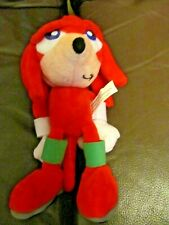 "Sonic The Hedgehog Knuckles Plush 7"" Inches(NEW)"