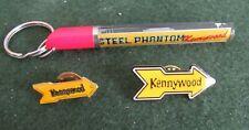 Kennywood Lapel Pin and Steel Phantom Keychain