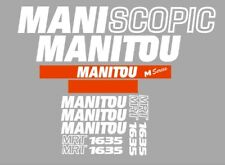 Sticker, aufkleber, decal - MANITOU MRT 1635