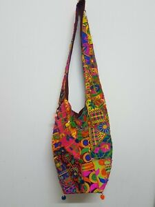 Patchwork Vintage Ethnic  Bohemian Women Purse Embroidered  Indian