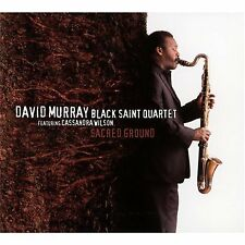 David Black Saint Murray Quartet Featuring Cassandra Wilson - Sacred Ground [CD]