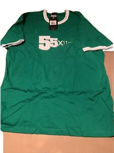 Nike Cycling 55x11 T-shirt size Extra Large  55 X 11 logo New