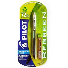Pilot Begreen Rexgrip Mechanical Pencil - 0.5mm - Black Barrel + Tube of Leads