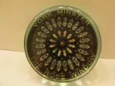 Cotswold Rural Crafts Talisman York Minster The Rose Window Glass Paperweight
