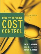 Food and Beverage Cost Control 9780471273547