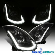 For 2003-2007 Infiniti G35 Coupe Projector Headlights+Integrated LED Signal
