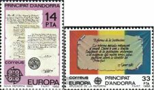 Andorra - españolas Correos 153-154 (completa edición) nuevo con goma original 1