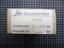 1 x SUCO Druckschalter; 9055; 25-250 bar