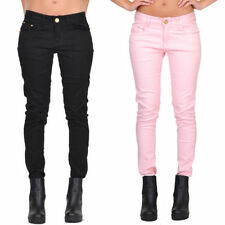 Cotton Blend Coloured L32 Jeans for Women