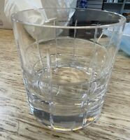 NIB Orrefors Crystal Street Double Old-Fashioned Glass/Tumbler