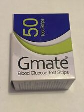 Gmate Blood Glucose Test Strips (50CT) Expired Lot Of 22 [1100 TOTAL]