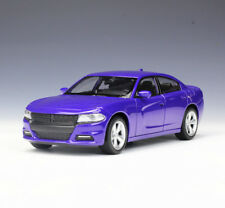 Welly 1:24 2016 Dodge Charger R/T Diecast Model Car Vehicle New Purple